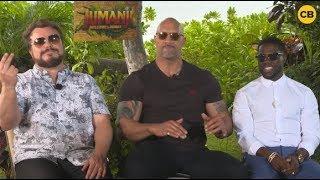 The Rock, Jack Black & Kevin Hart Challenge Chris Hemsworth to Jam Battle