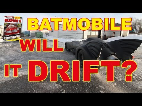 Batmobile - will it drift?
