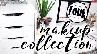 Makeup Collection & Storage Tour   Nathalie Munoz