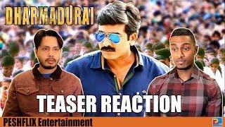 Dharmadurai Teaser Reaction & Review | Vijay Sethupathi | PESHFlix Entertainment