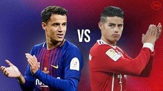 Philippe Coutinho vs James Rodriguez●Skills, Goals, Assists, Passing