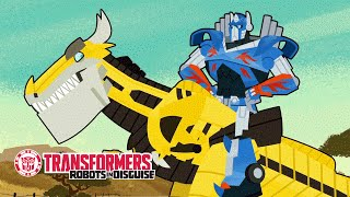 Transformers - How To Ride Your Dinobot (Chapter 2)
