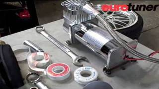 VW Golf GTI Air Suspension installation