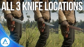 Red Dead Redemption 2 Weapon Locations - All 3 Unique Knife