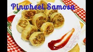 Pinwheel Samosa | Samosa Pinwheels  | Aloo Bhakarwadi Recipe by Priyanka Rattawa