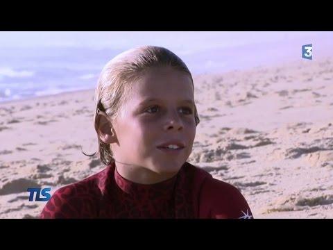 Killian Guerin, prodige du surf à 12 ans