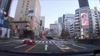 (HD) Morning drive in Tokyo 06 -早朝の渋谷~六本木周辺ドライブ-