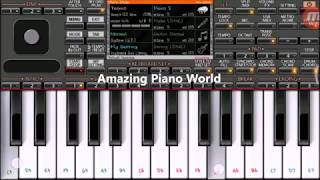 Sun Saathiya | Mobile Piano tutorial with Tital track on ORG2018