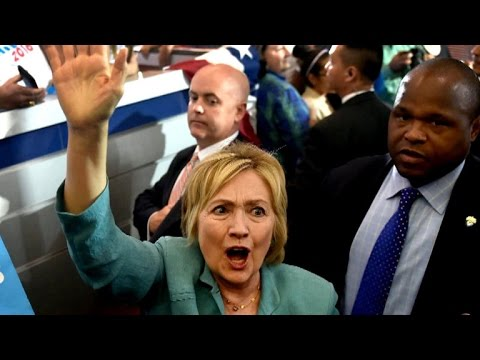 watch Clinton responds to Trump Second Amendment comments