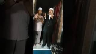 Doa sebelum Almarhum Harun Din berangkat ke AS