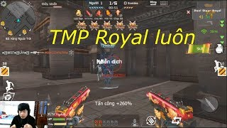 [ Bình Luận CF Legends ] Steyr TMP - Royal Dragon - Tiền Zombie v4