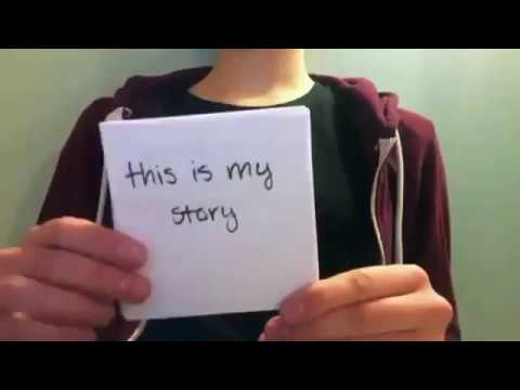 Rape victim shares her sexual abuse story on flash cards !!! Shatter the silence !!!