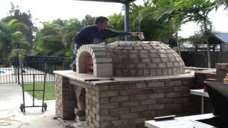 Pizza oven build