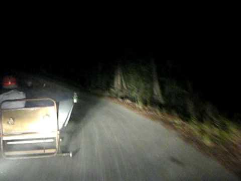 Brutal Acidente em Cama Carrinho de Rolamentos Val Moreiro Manjão Góis