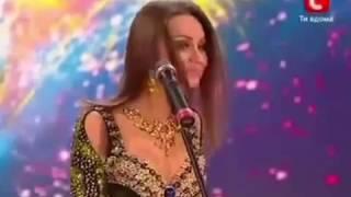 رقص شرقي من فتاة اوكرانية في برنامج المواهب