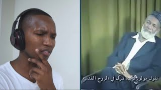 NON MUSLIM REACTS TO Ahmed Deedat embarrassed priest who wanted to challenge him (a rare video )