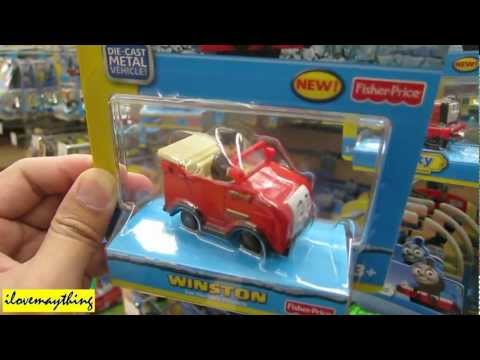 Thomas and Friends Winston Blue Mountain Mistery