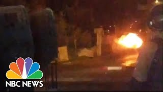 Cellphone Bomb At Ancient Tomb Destroyed By Controlled Explosion | NBC News