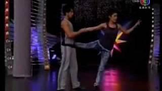 Jeeja [Raging Phoenix 2009] stunt show on ''At Ten