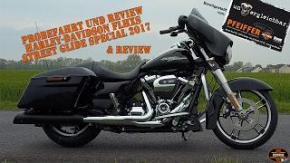 Probefahrt Harley-Davidson FLHXS Street Glide Special 2017 Review