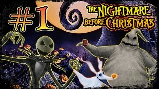 The Nightmare Before Christmas: Oogie's Revenge Walkthrough Part 1 (PS2, XBOX) Ch 1: Jack's Return