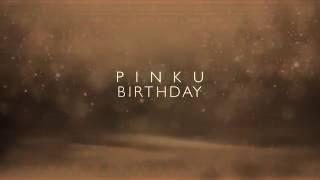 Pinku B day