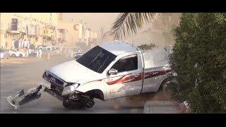 حوادث سيارات -حوادث تفحيط - تفحيط مطنش - حوادث تفحيط 2014
