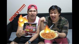 Extreme Spicy Ramen Challenge!! Dubai Edition!!