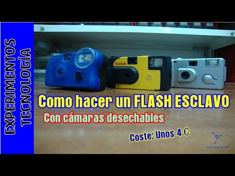 Cómo hacer un flash esclavo por cuatro euros.