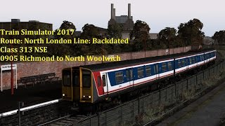 Train Simulator 2017 Lets Play, Class 313 on Backdated North London Line
