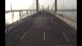FIRST & EXCLUSIVE DRONE Visuals of New Cable Bridge @ BHARUCH.....Prime Minister Shri Narendra Modi