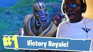 MY FIRST INFINITY GAUNTLET VICTORY! - Fortnite Battle Royale