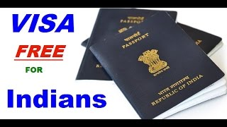 58 visa free countries for indian passport holders