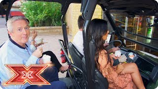 Preview: The Judges cause havoc at Thorpe Park Resort | Auditions Week 4 | The X Factor 2017