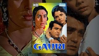 Gauri (HD) - Hindi Full Movie - Sunil Dutt - Nutan - 60's Popular Movies