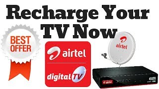 Airtel Digital TV /DTH Best Offer For Recharge How to Check Best offers in Airtel Digital TV