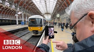 The London ghost train on its final journey – BBC London