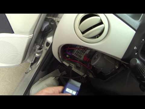 Resettare la memoria errori della centralina auto OBD Fiat Lancia Alfa Romeo