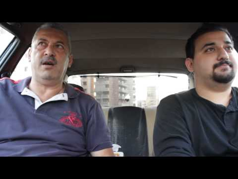 Lebanese Father and Son- Driving
