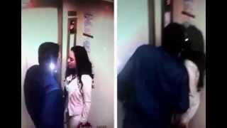 [HOT] Rekaman CCTV Farhat Abbas cium Regina di Lift