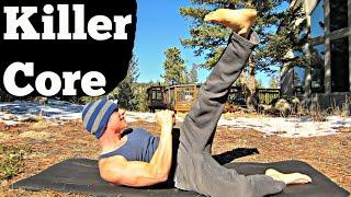The 10 Minute Killer Core Workout Video! Total Body Endurance Training #coreworkout