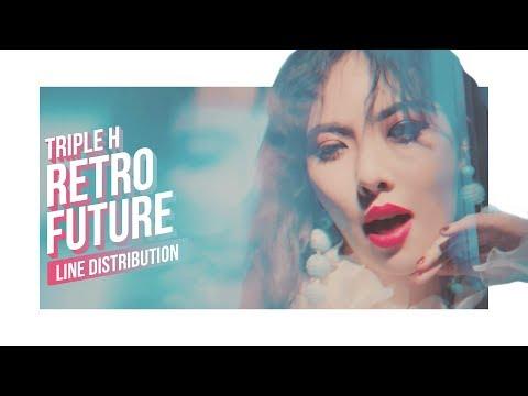 Triple H - RETRO FUTURE Line Distribution (Color Coded) | 트리플 H - 레트로 퓨쳐