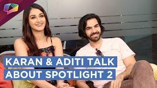 Karan V Grover & Aditi Aarya Talk About Spotlight 2 | Live | Exclusive | HD