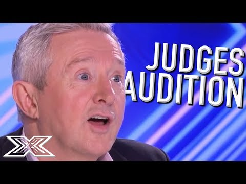 When JUDGES AUDITION!   X Factor Global