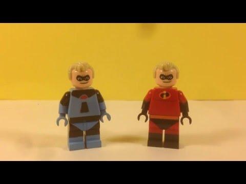 Custom Lego Original Mr. Incredible