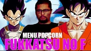 DRAGON BALL Z - FUKKATSU NO F - MENU POPCORN