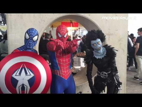 Romics 2017, tra cosplay, alieni e supereroi