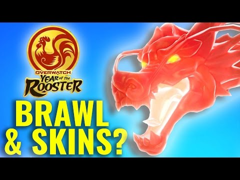 watch Overwatch Chinese New Year Brawl & Skins Predictions (Theory)
