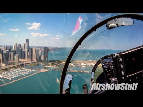 RideAlong! US Navy F/A-18F Super Hornet Cockpit Cam - Chicago Air and Water Show 2011