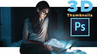 How to Make Really Good Thumbnails on YouTube -  Photoshop Tutorial